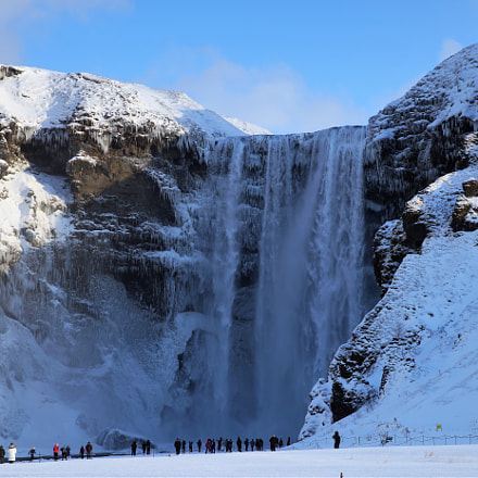 Skogafoss Winter, Sony SLT-A99V