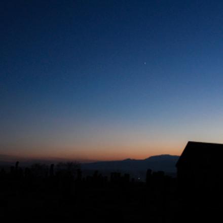 Noratus Cemetery Twilight
