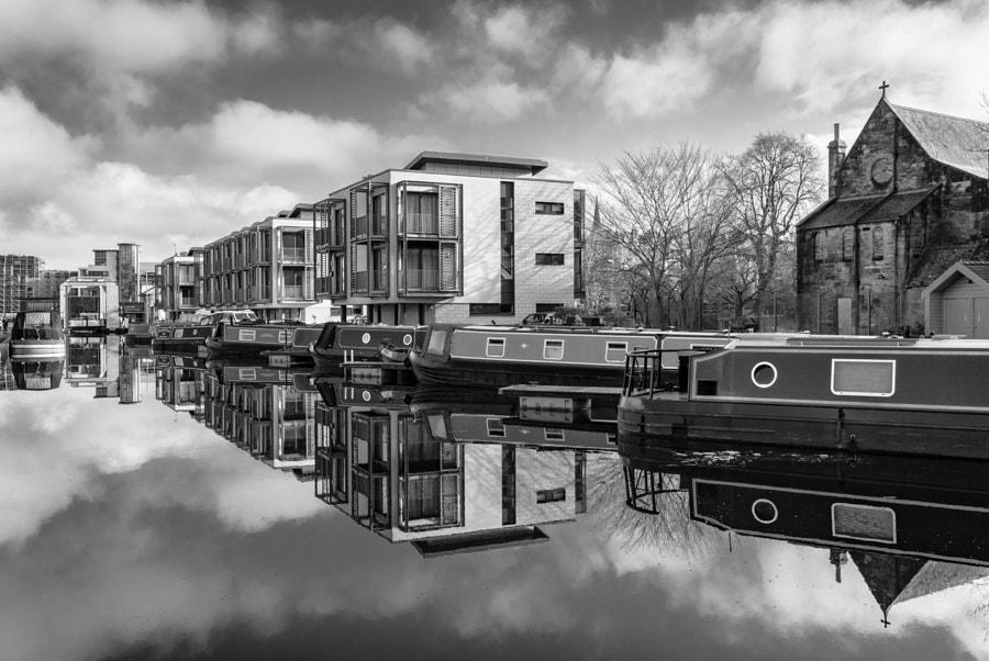 Lochrin Basin Reflections
