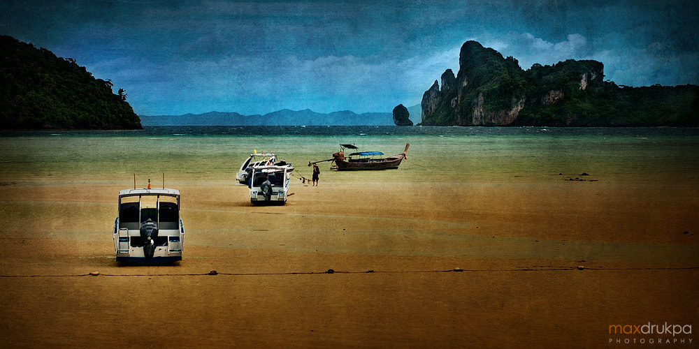 Photograph Low tide at the Phi Phi Don Island by Max Drukpa on 500px