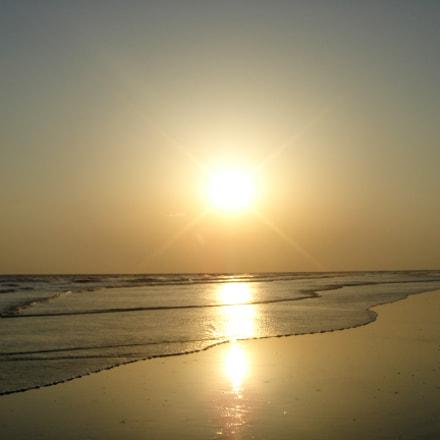 Sunset in Cox's Bazar, Sony DSC-T9