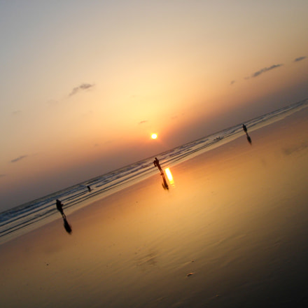 Sunset at Cox's Bazar, Sony DSC-T9