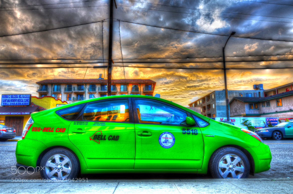 Photograph Green Taxi by Francis Hesse on 500px