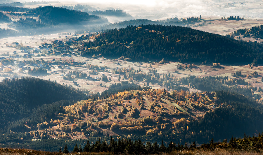Autumn islets, автор — Marcin Sz на 500px.com