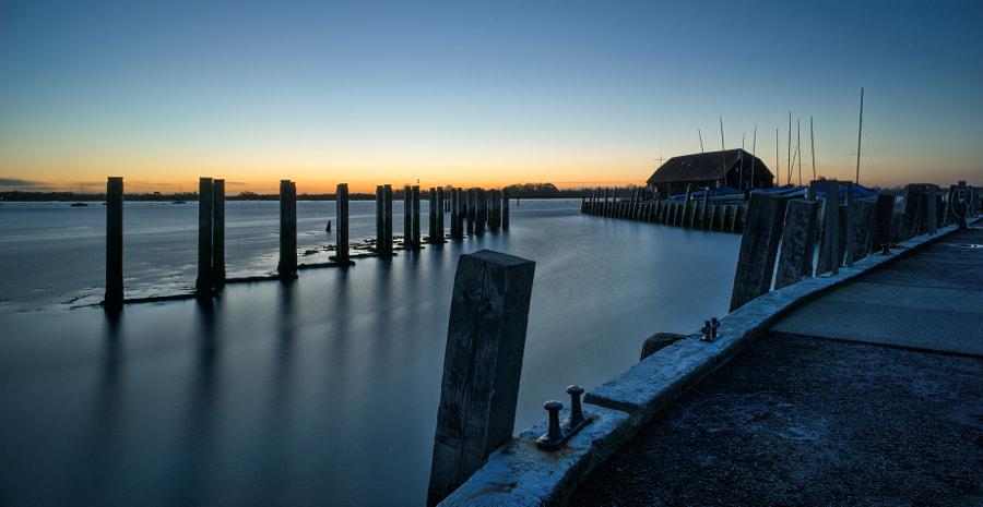 Bosham Harbour blue hour