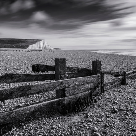 Cuckmere Haven (B&W)