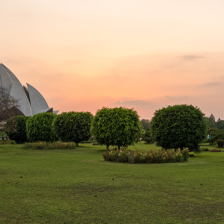 Lotus Temple, Pentax K-5, smc PENTAX-DA 12-24mm F4 ED AL [IF]