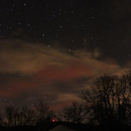 Yurt @ Night, Canon EOS REBEL T1I, Canon EF-S 18-55mm f/3.5-5.6 [II]