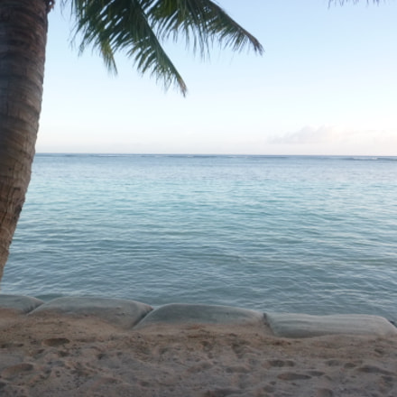 Sunset In Samoa, Panasonic DMC-FT25