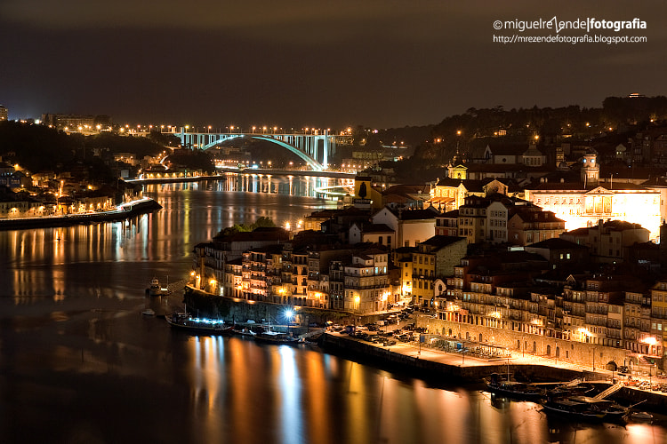 Photograph O´porto by night by Miguel Rezende on 500px