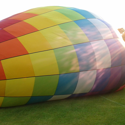Hot air balloon in, Samsung Galaxy S Stratosphere