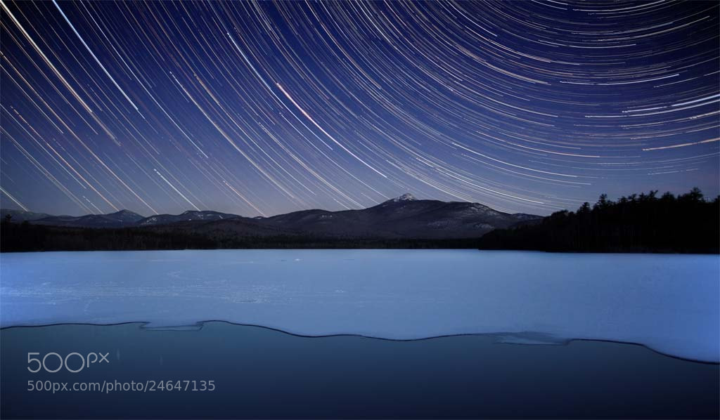 Photograph Chocorua Night, White Mountains, NH, 2013 by Christopher Wisker on 500px