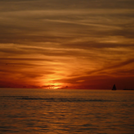 Sonnenuntergang, Panasonic DMC-FS5