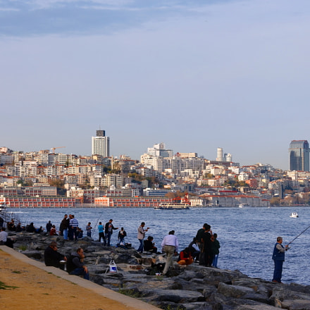 Istanbul. Bosphorus, Canon EOS 550D, Sigma 50-200mm f/4-5.6 DC OS HSM