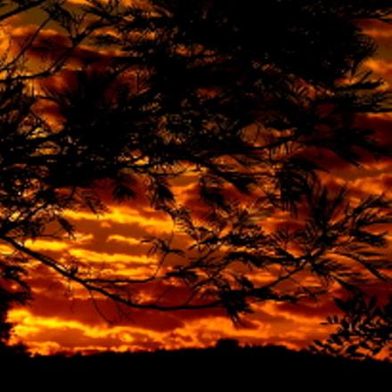 hot horizon.....in the morning, Fujifilm FinePix SL1000