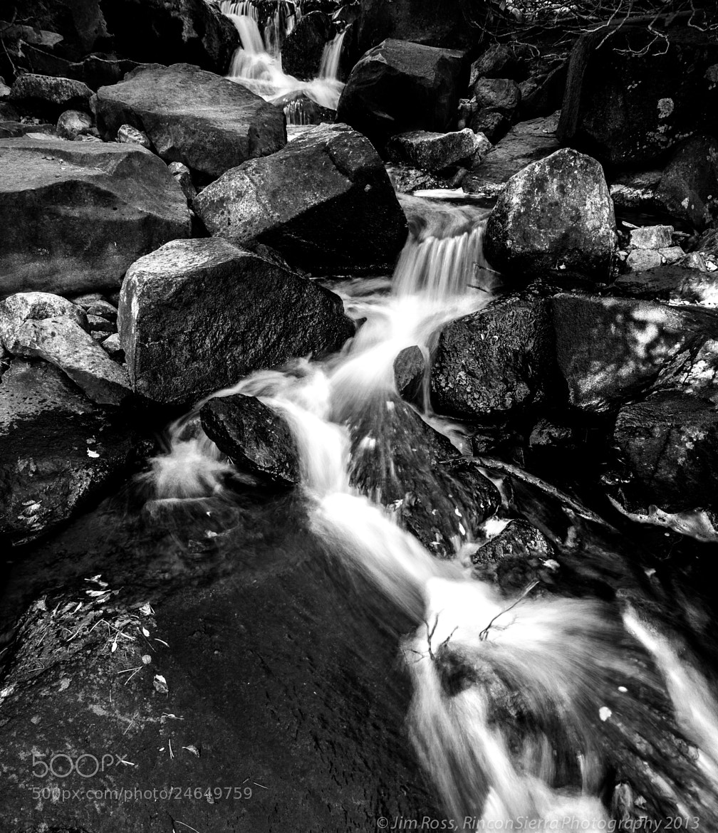 Photograph Tuxedo Falls in B&W!!! by Jim Ross on 500px