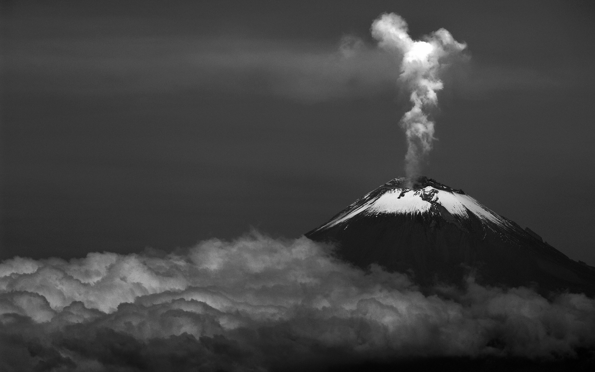Photograph Smoking over the clouds by Cristobal Garciaferro Rubio on 500px