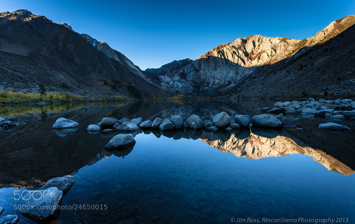 Photograph Convict Lake in Fall!!! (part deux) by Jim Ross on 500px