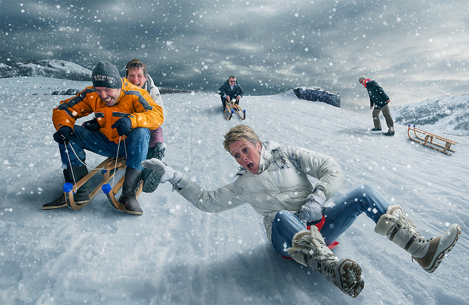 Photograph Snow race ;) by Adrian Sommeling on 500px