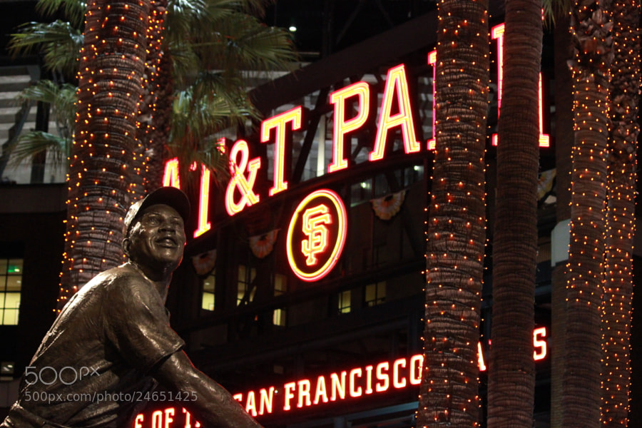 Photograph AT&T Park Willie Mays Plaza by Ken Martin on 500px