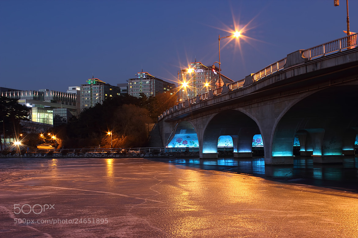 Photograph Bridge on ice by TY Kim on 500px