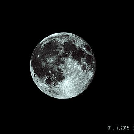 Luna piena, Fujifilm FinePix SL1000