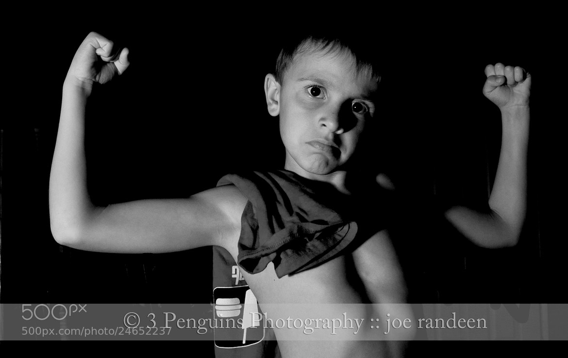 Photograph Big Muscles Little Kid by Joe Randeen on 500px