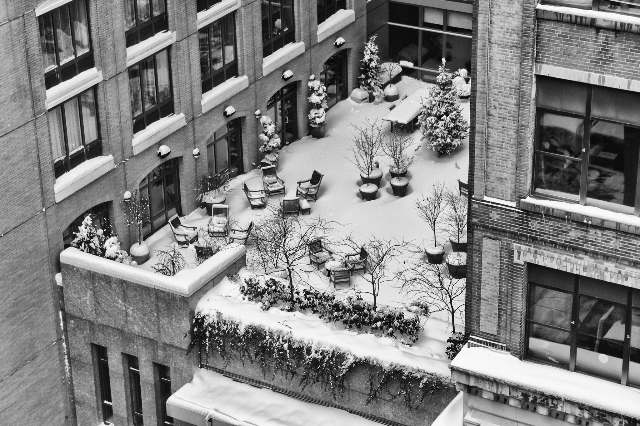 Photograph Wintertime Rooftop by J & G Vinson  on 500px