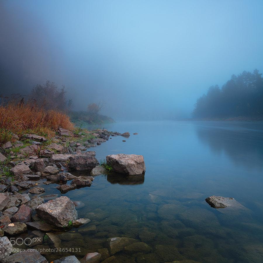 Photograph blue fog by Marat Akhmetvaleev on 500px