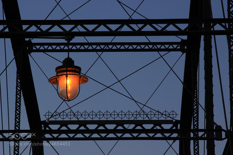 Photograph Pedestrian Bridge and Lamp by Ken Martin on 500px