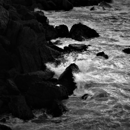 blacked sea, Fujifilm FinePix SL245