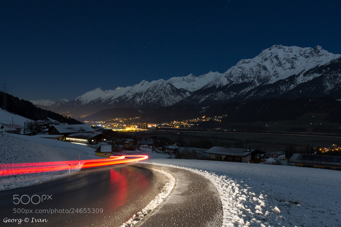 Photograph road to town by Georg Ivan on 500px