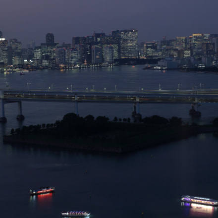 Odaiba artificial island in, Canon EOS KISS X5, Canon EF 40mm f/2.8 STM