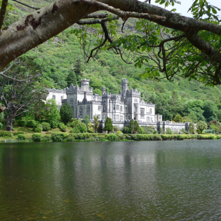Kylemore Castle, Connemara, Ireland, Panasonic DMC-LF1