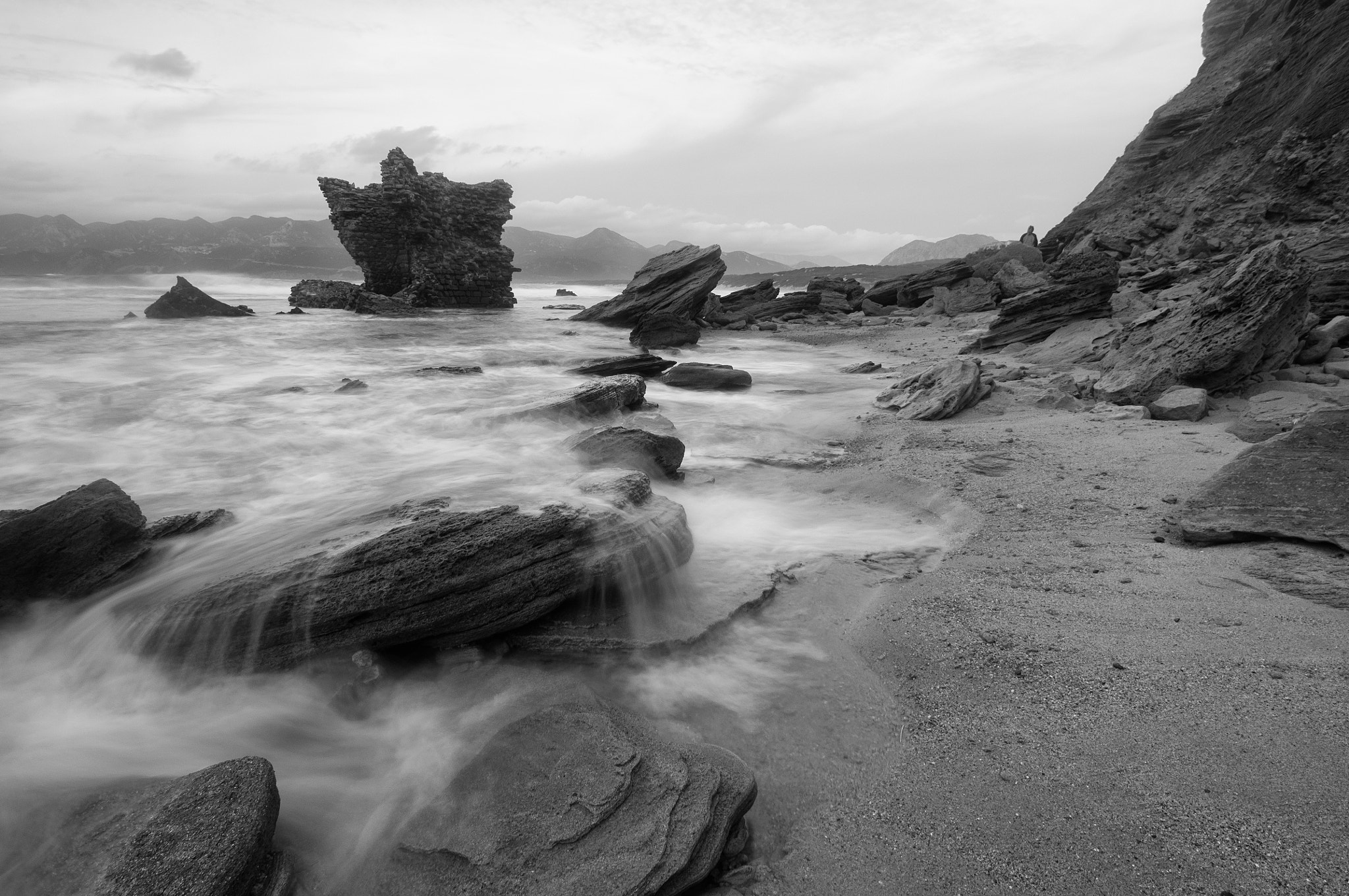 Photograph Beach ruins by Carlo Murenu on 500px