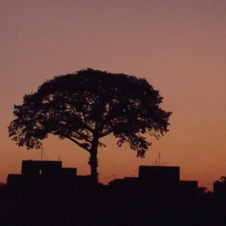 Por do Sol em, Fujifilm FinePix S2970