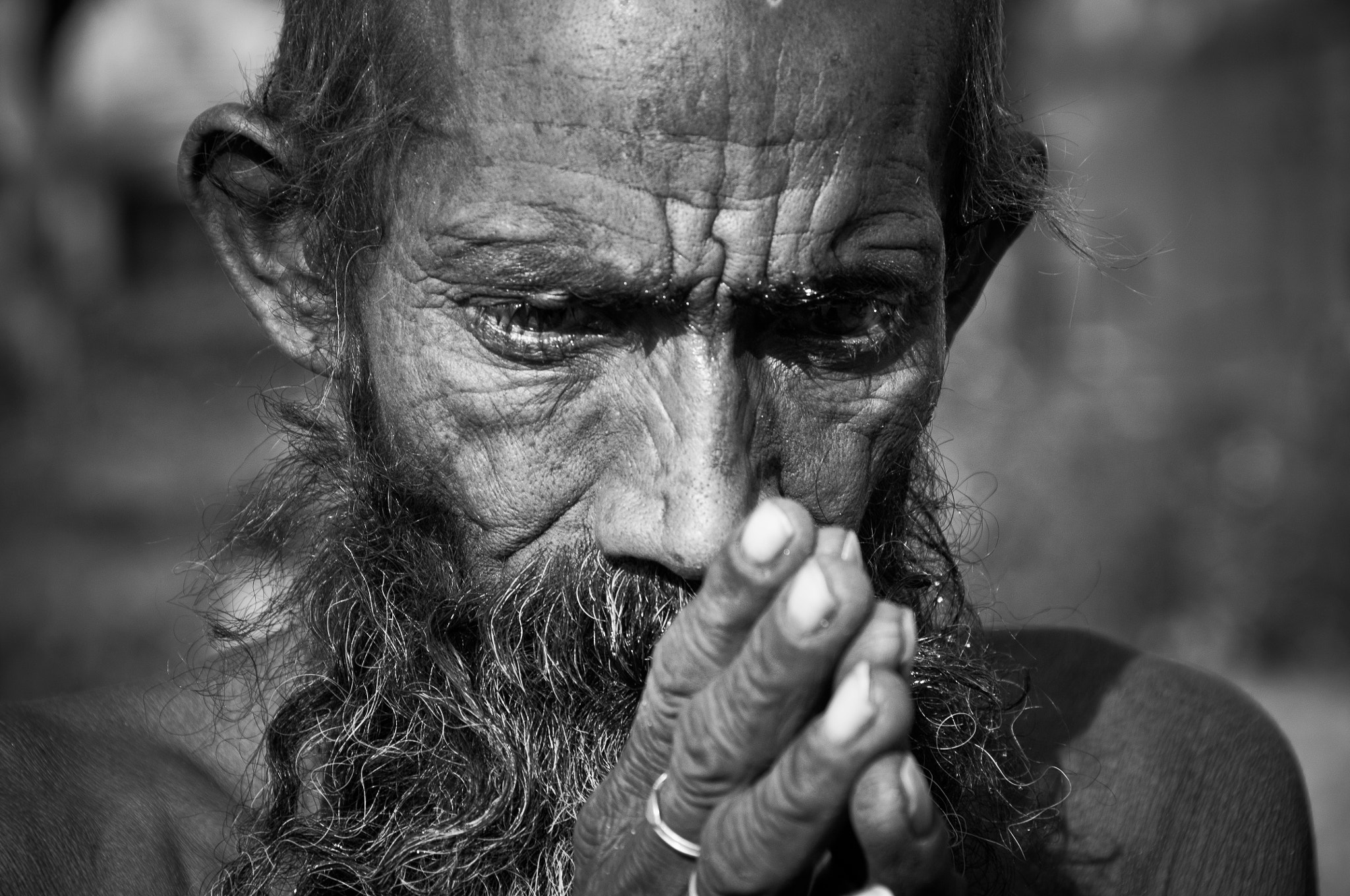 Photograph sadhu by Milan Schirlo on 500px