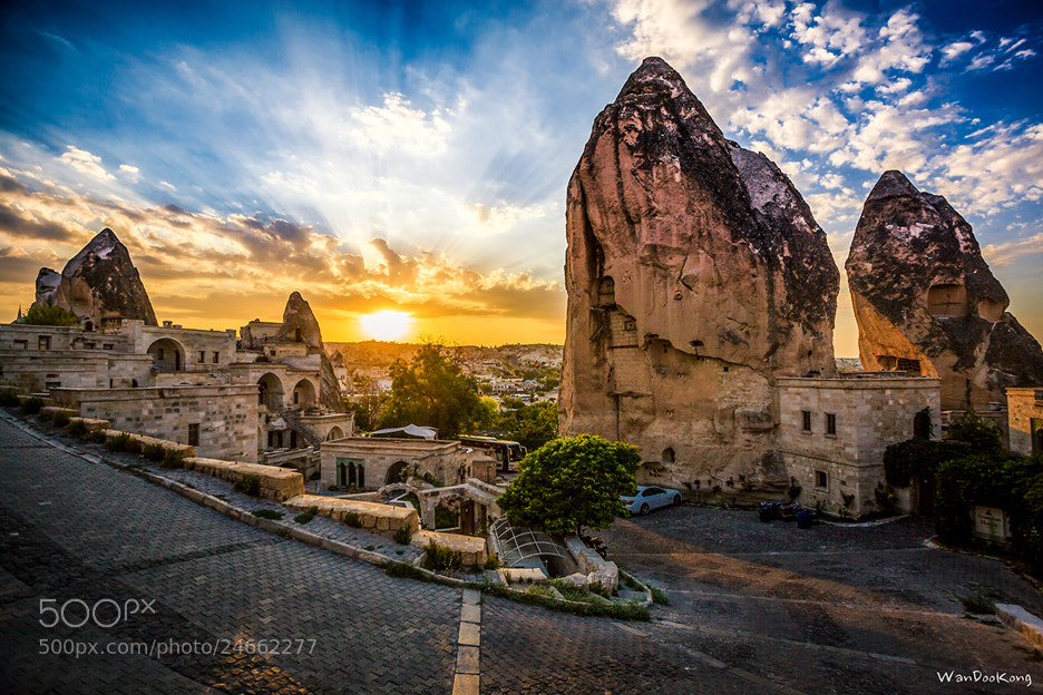Photograph Turkey Cappadocia Sunset by Seongmin JO on 500px