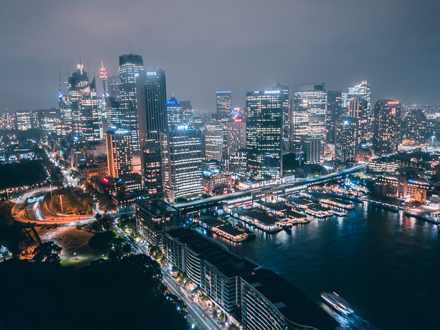 Sydney Night City by Alexander Golder on 500px.com