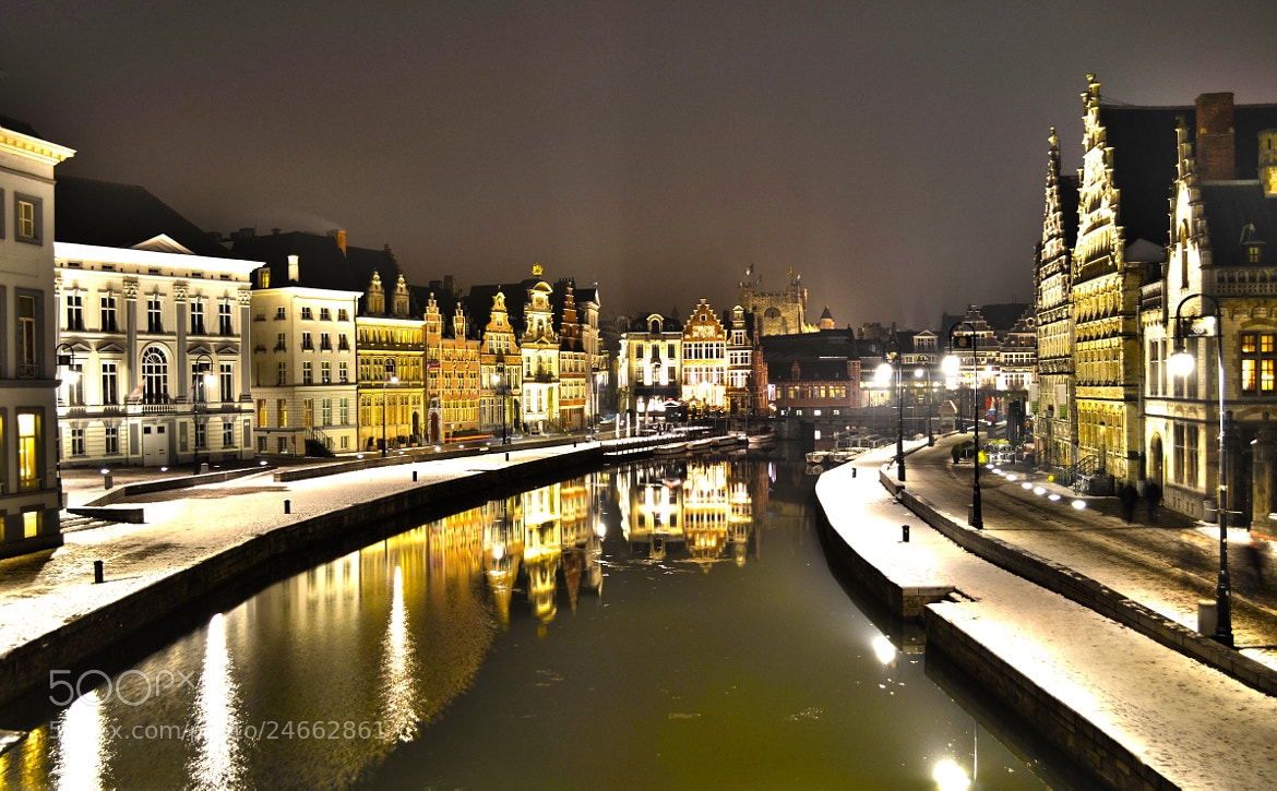 Photograph Winter Reflection in Ghent by Antonis Palimetakis on 500px