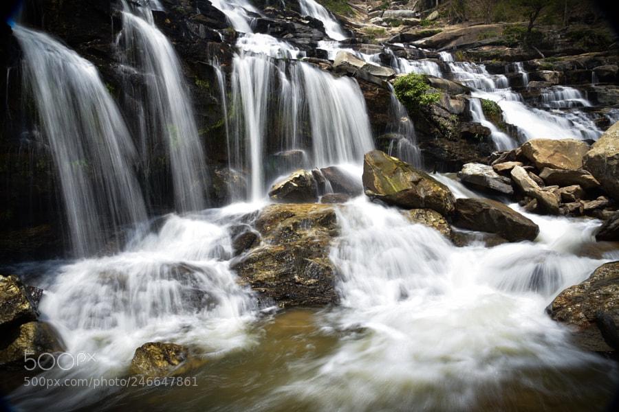 Mae Ya Waterfall, Chaing Mai, Thailand