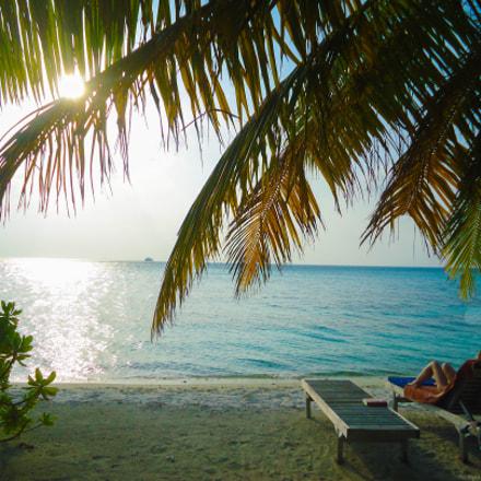 Sunny Day At Maldives, Sony DSC-W320
