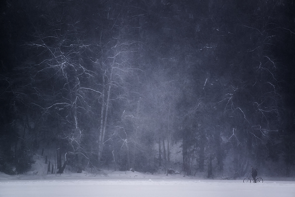 Photograph Winter blues by Mikko Lagerstedt on 500px