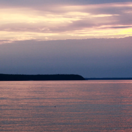 Sunset in Tobermory, Canon EOS DIGITAL REBEL XS, Canon EF-S 55-250mm f/4-5.6 IS