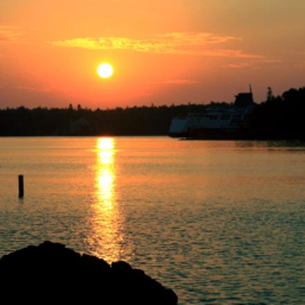 Sunrise, Canon EOS DIGITAL REBEL XS, Canon EF-S 55-250mm f/4-5.6 IS