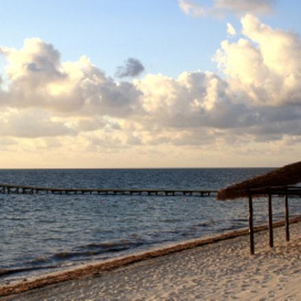 Beach, Canon EOS DIGITAL REBEL XS, Canon EF-S 18-55mm f/3.5-5.6 IS