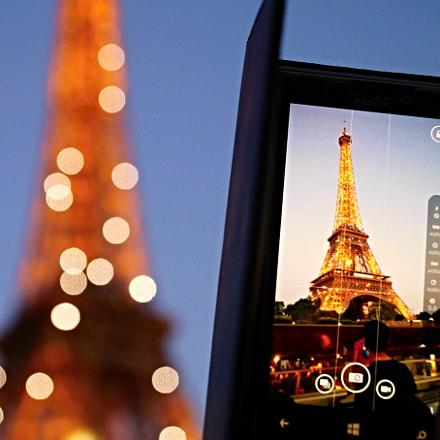 Paris Eifelturm, Sony SLT-A58, Sony DT 18-135mm F3.5-5.6 SAM (SAL18135)