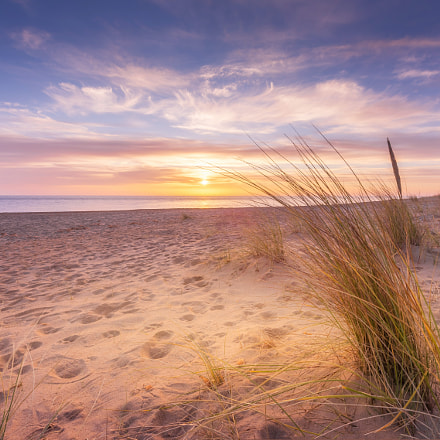 Sunrise over Winterton on Sea, Norfolk