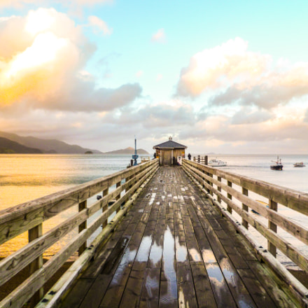 Wooden pier, Panasonic DMC-FS11