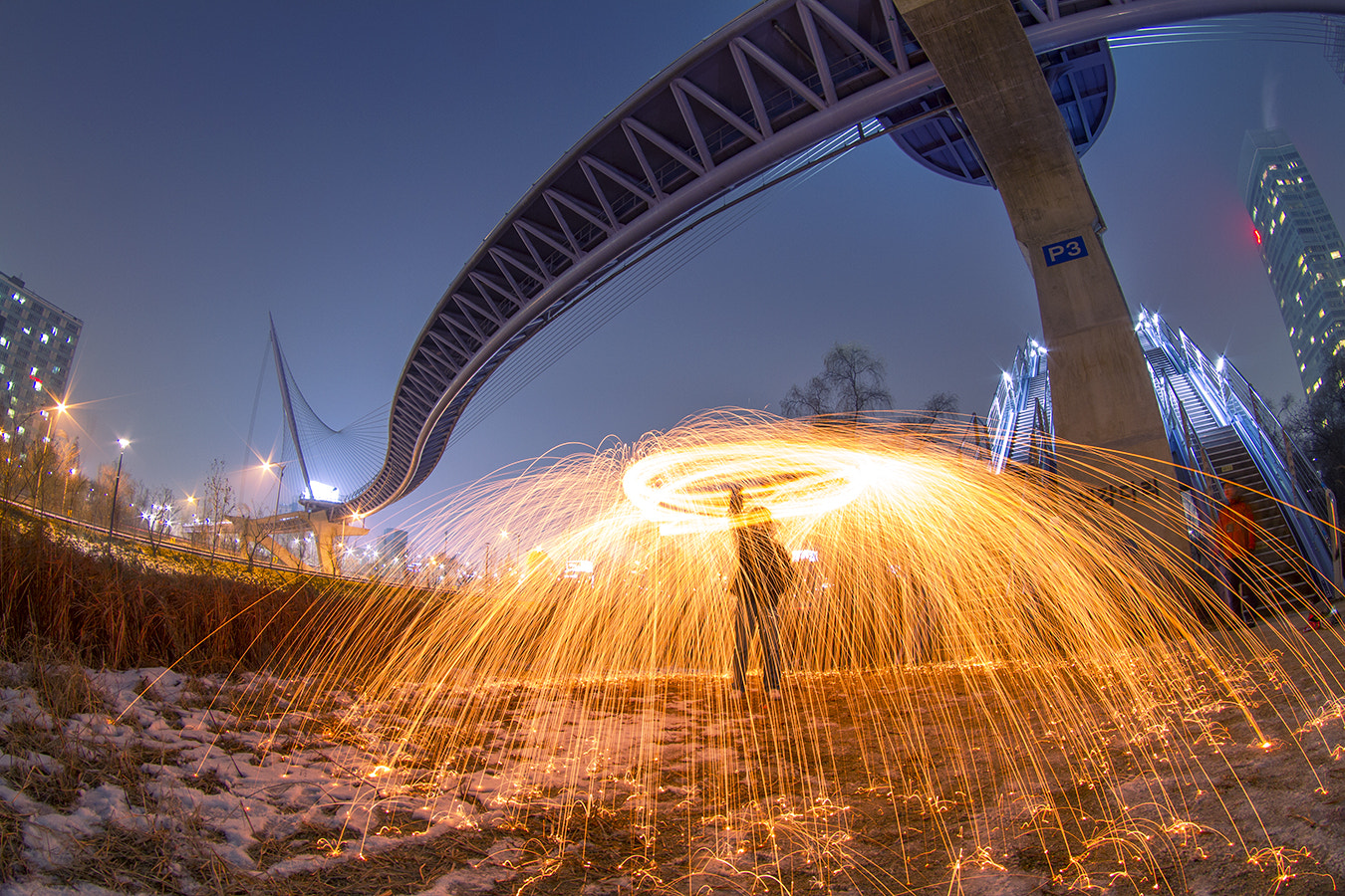 Photograph Spinning Flame by Gu Min Jeong on 500px